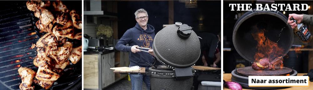 The Bastard workshop BBQ met de pappavan