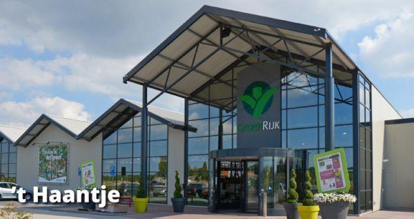 Tuinwinkel GroenRijk 't Haantje in Rijswijk